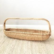 Magnolia Wicker Gathering Basket